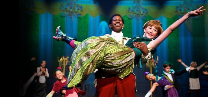 Frozen Jr. The Musical at Grand Rapids Civic Theatre